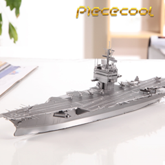 DIY 3D입체퍼즐 USS엔터프라이즈 항공모함 금속프라모델 조립