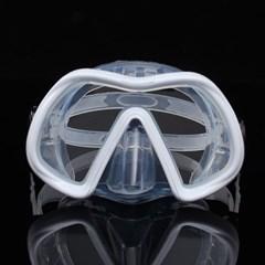 알로마 다이빙 마스크(퓨어화이트)