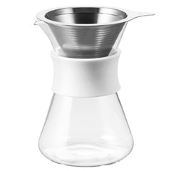하리오 심플리 글라스 커피 메이커 S-GCM-40-W_(1553002)
