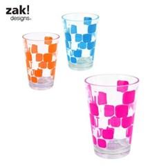 [잭디자인] 사각 물방울 컵 핑크 BPA free_(719066)