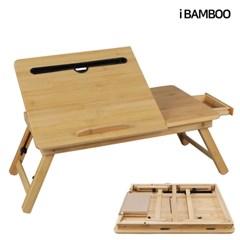 대나무 원목 노트북 테이블