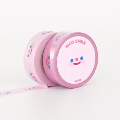 RiCO SMILE PINK masking tape