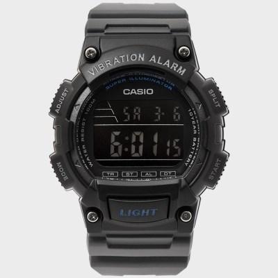 CASIO 카시오 W-736H-8B 남성 우레탄 손목시계