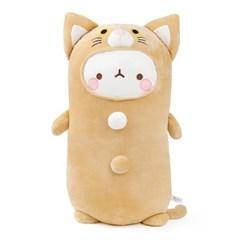 [몰랑이] 쫀득쫀득 모찌 소프트 몰랑 애착 바디쿠션 55cm 고양이