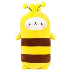 [몰랑이] 쫀득쫀득 모찌 소프트 몰랑 애착 바디쿠션 55cm 꿀벌