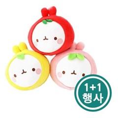 [몰랑] 동글동글 귀여운 몰랑이 과일 얼굴 인형 25cm 1+1