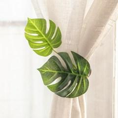열매잎커튼집게 15cmP 조화 커텐 끈 인테리어 FUDCFT