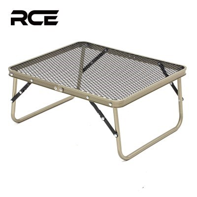 RCE 아이언 메쉬 접이식 캠핑 미니 테이블 440