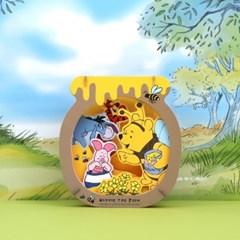 디즈니 3D 종이극장-곰돌이푸