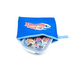 파워레인저 가방 스텐 식판도시락 (닌자포스)