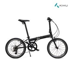 키후 블라스트 모노블랙 미니벨로 20인치 접이식자전거 크로몰리 9단
