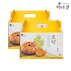 [이너셋] 허니부쉬 호박즙 100mlX24포X2박스 맛있는 과채주스 국내산