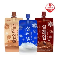 설레임 밀크x8개+커피x8개+카카오쉐이크x8개