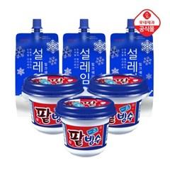 일품팥빙수x6개+설레임 밀크160mlx12개