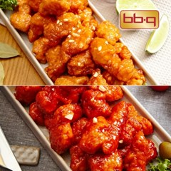 BBQ 바로 치킨 강정 세트 6팩(순한3+매운3)