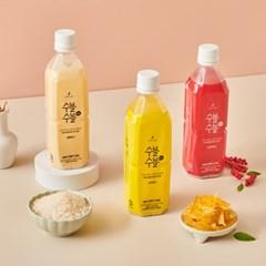 무알콜막걸리맛 음료 수블수블0.5 3종 혼합세트 클래식/유자/오미자