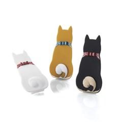 리본 강아지/고양이 스마트폰 스트랩