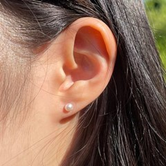 BS2114 [sliver925]진주 귀걸이