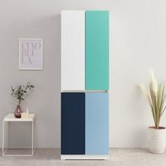 [도노코코] 플렉스 600양문옷장 11가지 색상 주문제작 항균필름