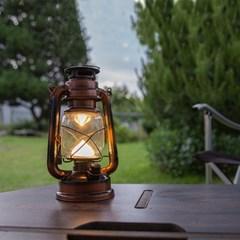 캠핑조명 감성캠핑 랜턴 LED 호야등 호롱불 대형 2종