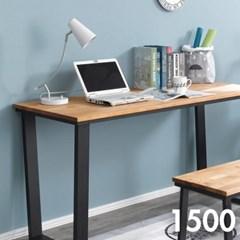 차 한잔의 여유 원목 테이블 1500