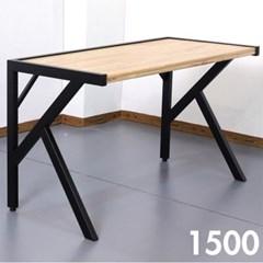차 한잔의 여유 참죽 원목 테이블 1500