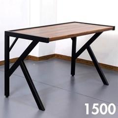 차 한잔의 여유 멀바우 원목 테이블 1500