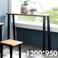 차 한잔의 여유 원목 테이블 1200x950
