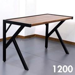 차 한잔의 여유 멀바우 원목 테이블 1200