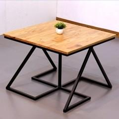 차 한잔의 여유 참죽 원목 테이블 660