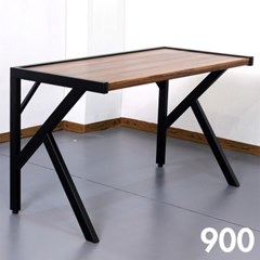 차 한잔의 여유 멀바우 원목 테이블 900