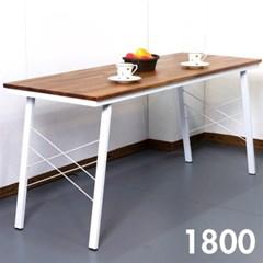 홈카페 멀바우 원목 식탁 1800
