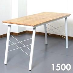 홈카페 참죽 원목 식탁 1500