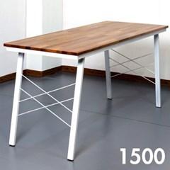 홈카페 멀바우 원목 식탁 1500