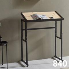 차 한잔의 여유 철제 원목 테이블 840