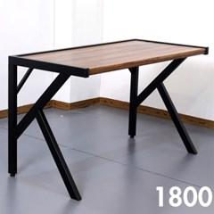 차 한잔의 여유 멀바우 원목 테이블 1800
