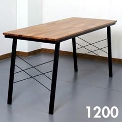 홈카페 멀바우 원목 식탁 1200