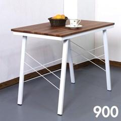 홈카페 멀바우 원목 식탁 900