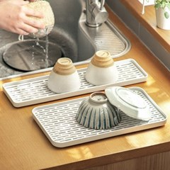 물빠짐 식기 설거지 컵 접시 정리대 건조대 (소형)