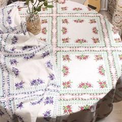 팝플라워 테이블보 식탁보(2colors)