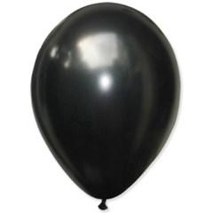 [조이벌룬] 30cm 펄블랙 50입/ 할로윈 풍선 장식