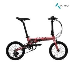 키후 미니에어 써리즈 미니벨로 16인치 접이식자전거 알로이 8.9kg