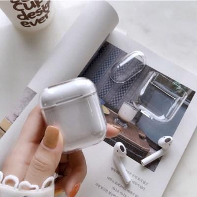 애플 에어팟 케이스 프로 3세대 2세대 클린 투명