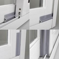 창문 미세 소음 차단 문풍지 문 틈막이 방음재 방충망