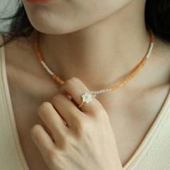 daisy beads ring