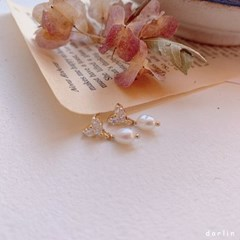 엠브레 담수진주 귀걸이 / embre earring