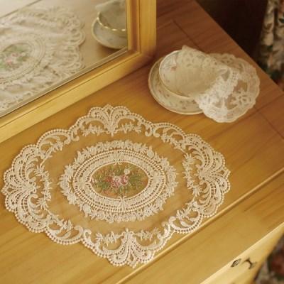 홈카페 감성 식탁보 테이블보 레트로 테이블매트 2장