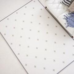 15T 퓨어 PVC 놀이방매트 크로스 거실 어린이 층간소음방지 매트