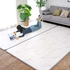 15T 퓨어 PVC 놀이방매트 스노우마블 거실 어린이 층간소음방지 매트
