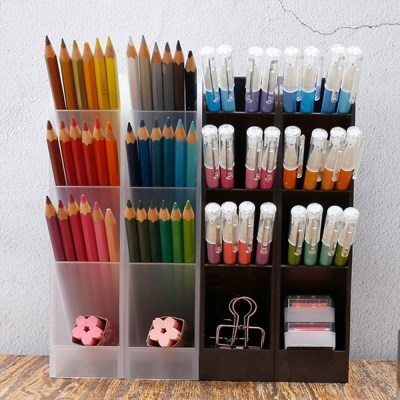 책상 문구 정리함 연필 꽂이 정리의신 스토리지 2개